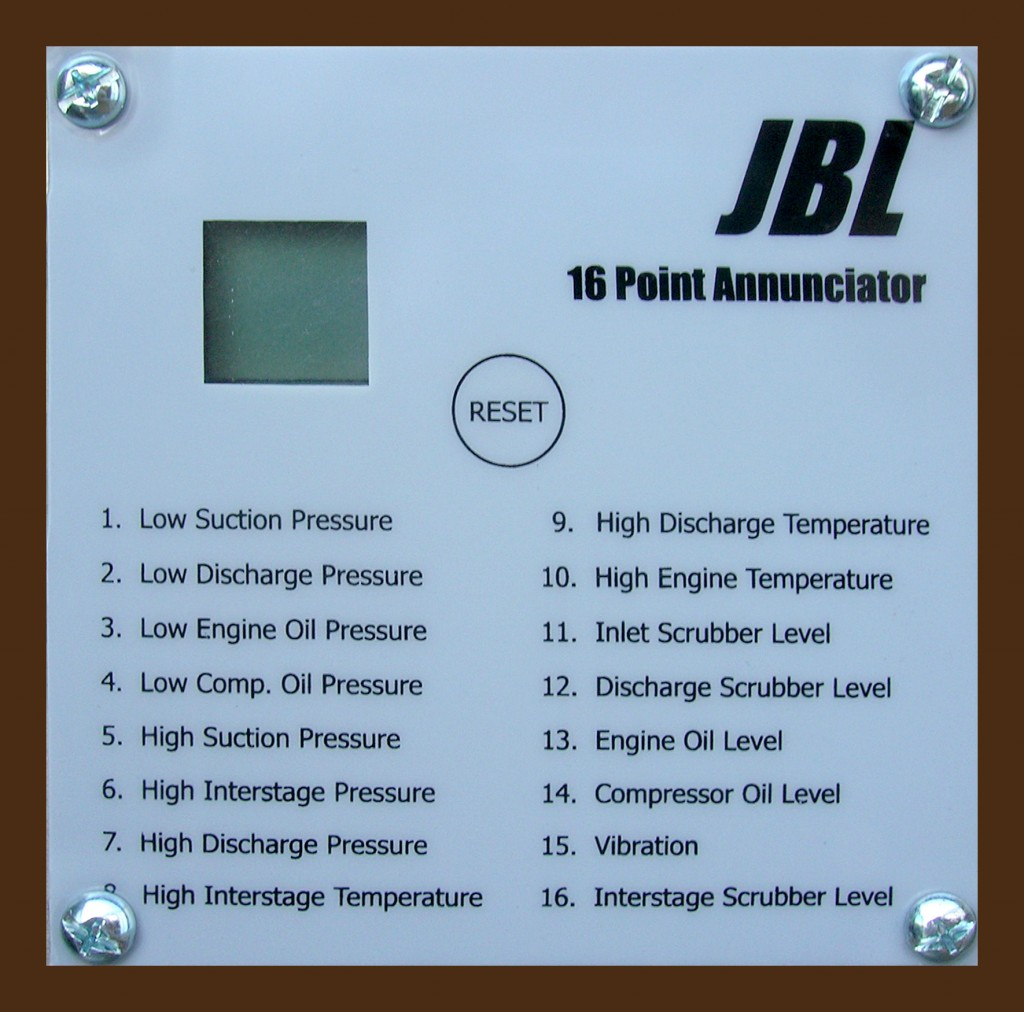 JBL 16 Point Annunciator