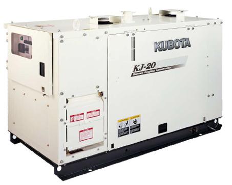 Kubota KJ20 Generator