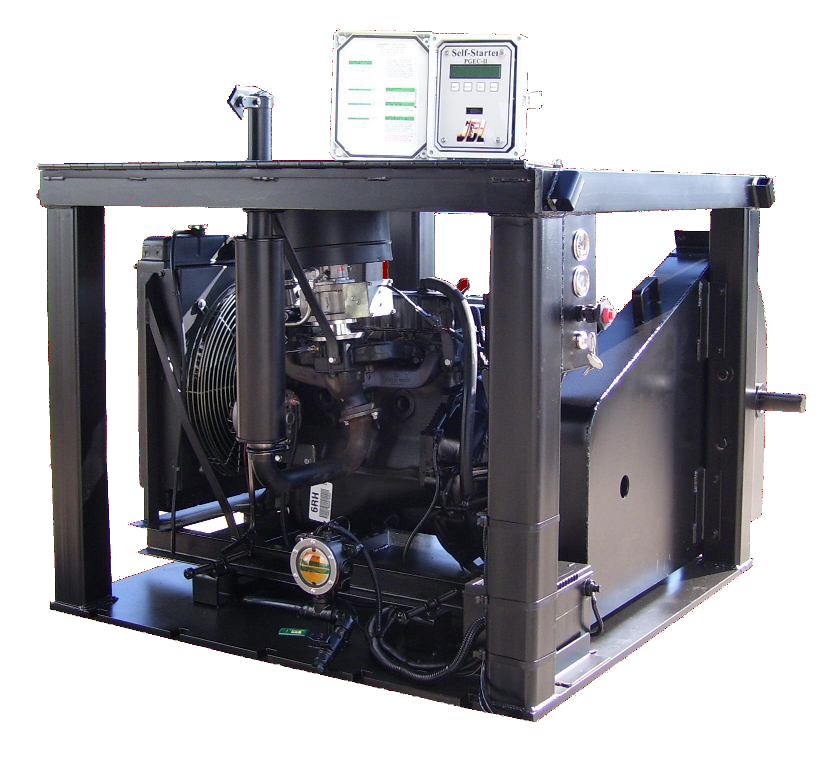 Hp Natural Gas Powered Industrial Engine